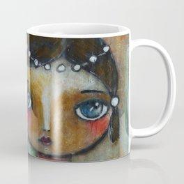 Eastern peony girl Coffee Mug