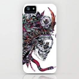 Death God Itzamna iPhone Case