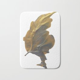 Golden Leaf Bath Mat