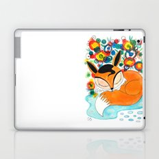Sleepy fox Laptop & iPad Skin