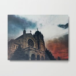 After such knowledge, what forgiveness? Metal Print