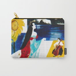 Madam Butterfly                                     by Kay Lipton Carry-All Pouch