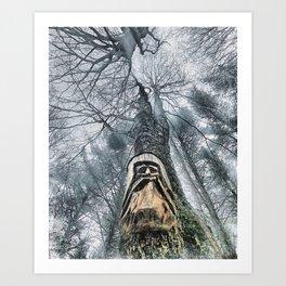Old Man Woods Art Print