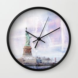 Statue of Liberty Art Wall Clock