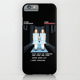 All Play and No Work iPhone Case