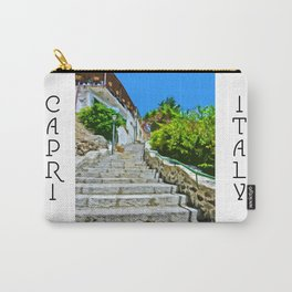 Steps of Capri Carry-All Pouch