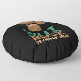 Wait I See A Rock Floor Pillow