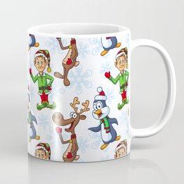 Christmas Eve Pattern  Coffee Mug