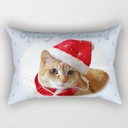 Mewy Christmas! Rectangular Pillow