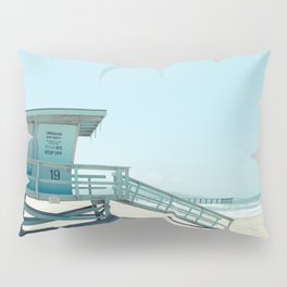Hermosa Beach Lifeguard Tower 19 Pillow Sham