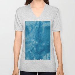 Bleu Unisex V-Neck