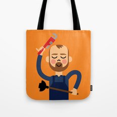 Taking the Plunge! Tote Bag