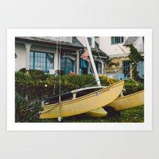Catamaran Art Print