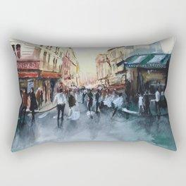 PARIS Street - Painting Rectangular Pillow