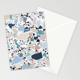 Pastel Terrazzo Stationery Cards