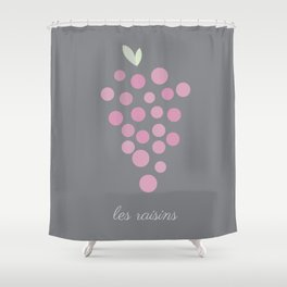 Les Raisins Shower Curtain