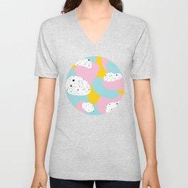 Spots & Dots Unisex V-Neck