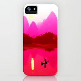 Calm Energy iPhone Case