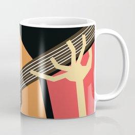 Flamenco Guitar Coffee Mug