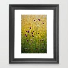 Verbena Framed Art Print