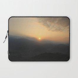 Sunrise in Pokhara Laptop Sleeve