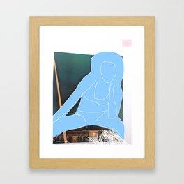 She's Got The Blues Framed Art Print