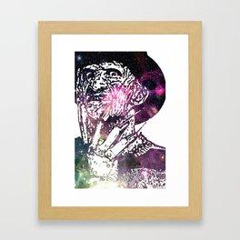 Galaxy Robert Englund Freddy Krueger Framed Art Print