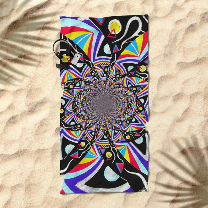 Time Machine Beach Towel