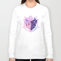 baphomet Long Sleeve T-shirts featuring Baphomet (MIXED) by Gunkiss