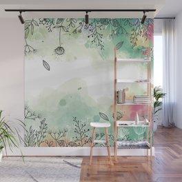 jardin doux Wall Mural