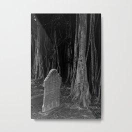 Cemetery Walk Metal Print