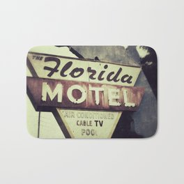 Florida Road Trip Bath Mat