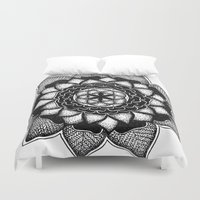 stone Duvet Covers featuring Stone by Fie Bystrup