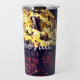 Under The Shade Of Yellow Travel Mug