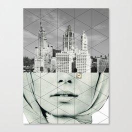 Der Traum von der Stadt Canvas Print