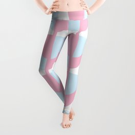 Tulips In Amsterdam - Pink and Blue Leggings