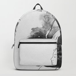 Night stories b&w. Backpack