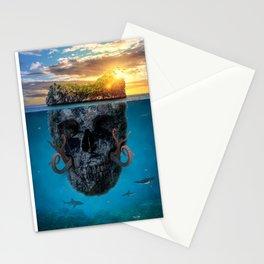 Skull Island Stationery Cards