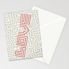 Love game Stationery Cards