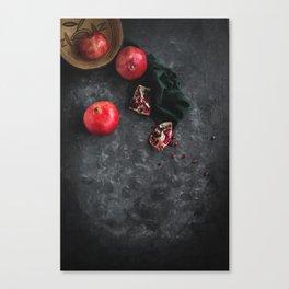 Pomegranate Study Canvas Print