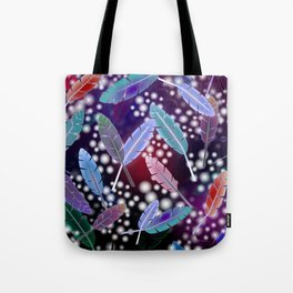 Feathers and Fairy Lights (The Witching Hour) Tote Bag