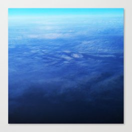 Ombre Arial Canvas Print
