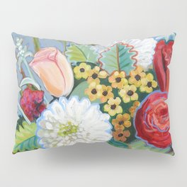 Blue Bowl Pillow Sham