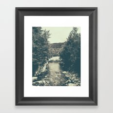 for emma, forever ago Framed Art Print