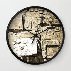 City Ruins Wall Clock