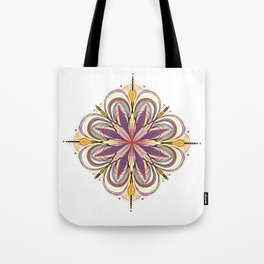 SunFlower Mandala for your Mind Tote Bag