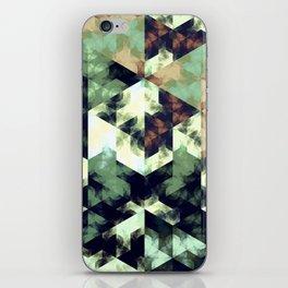 Green Hex iPhone Skin