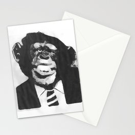 mono deshumanizado Stationery Cards