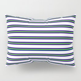 Nautical Stripes Pillow Sham