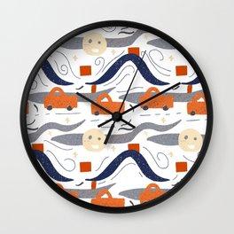 Night Travel Wall Clock